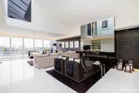 复式公寓装修效果图 现代风格