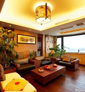 复式公寓装修效果图 新中式风格