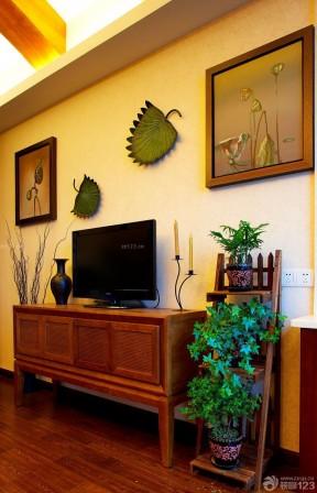 复式公寓装修效果图 电视柜