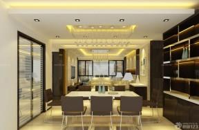 复式公寓装修效果图 水晶灯