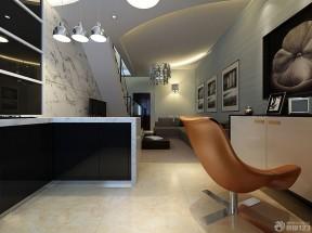 复式公寓装修效果图 现代简约风格