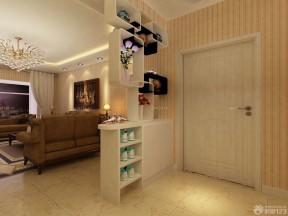 复式公寓装修效果图 白色门