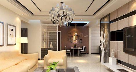 71㎡港式风格装修设计案例设计理念:港式风格家居,如果将整个居室的室