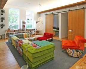 沙发垫 复式住宅