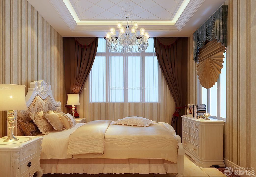 结婚卧室窗户设计效果图
