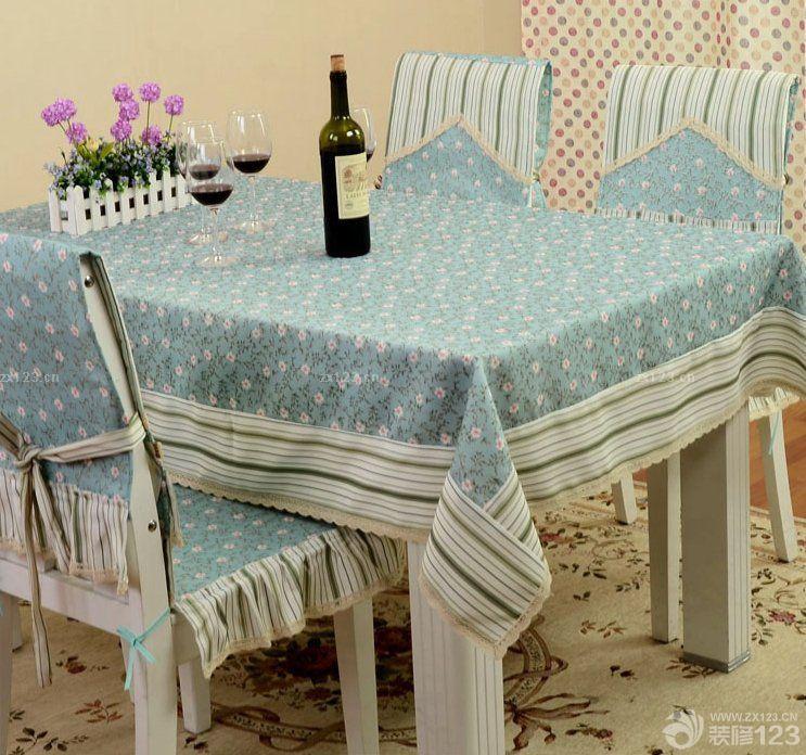 欧式风格餐桌椅子椅套装饰图片