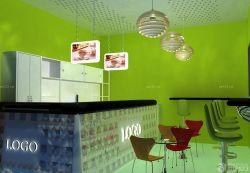 奶茶店装修风格吧台设计效果图