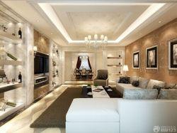 客廳軟包吊頂設計圖