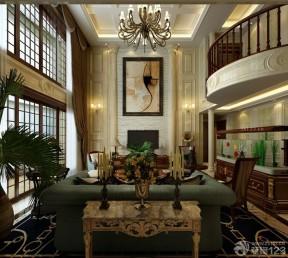 挑高復式 家庭客廳