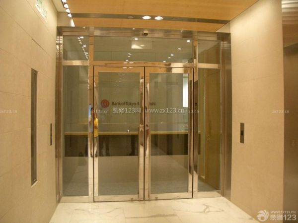 玻璃门应用方法