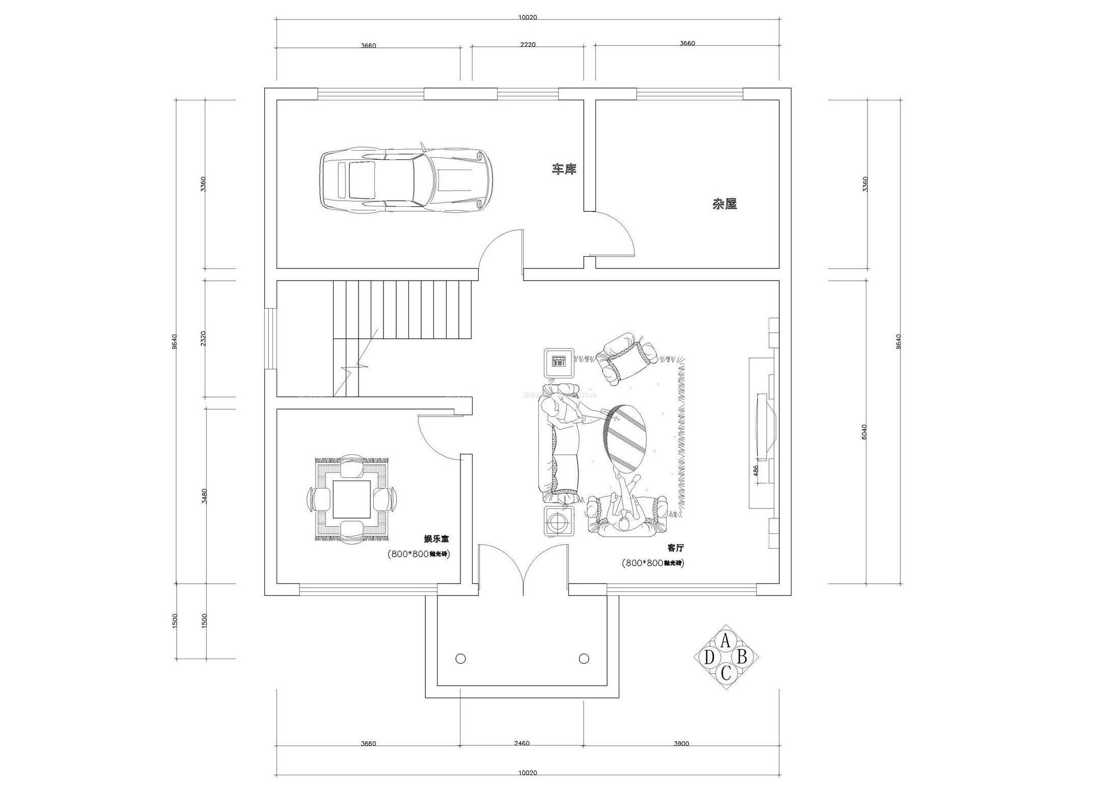 145平农村平房设计图纸