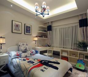 二室二廳改三室一廳男生臥室設計圖