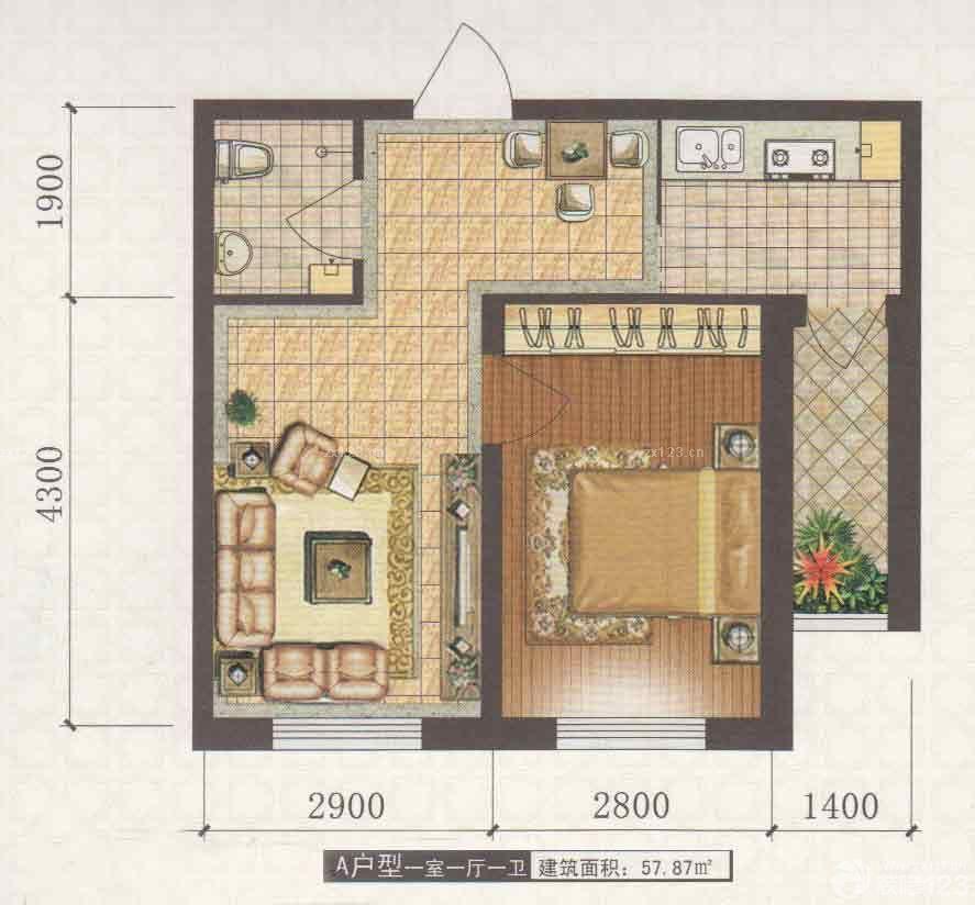 小房间设计图卧室图片平面图分享展示图片