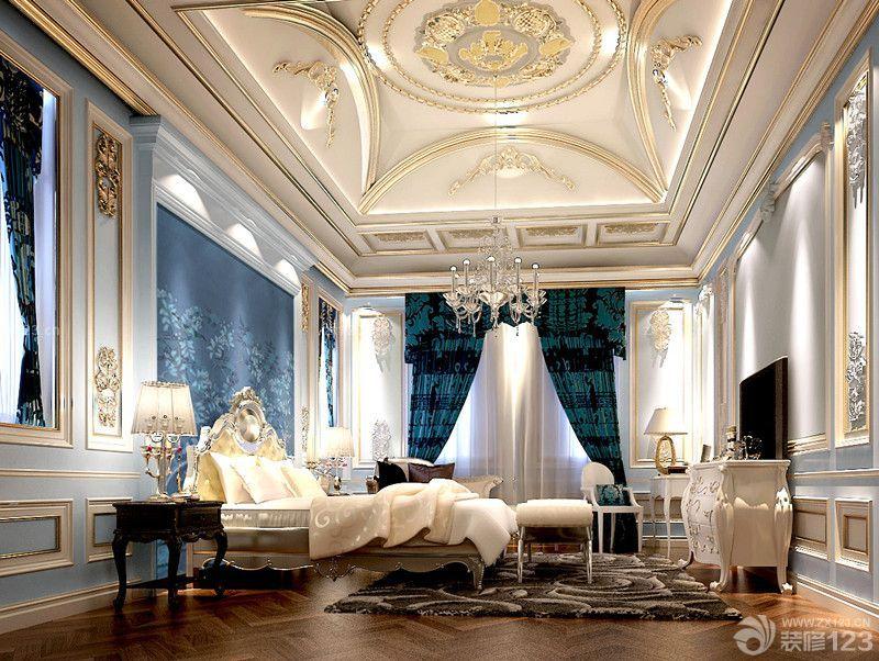 豪华别墅欧式卧室装修案例