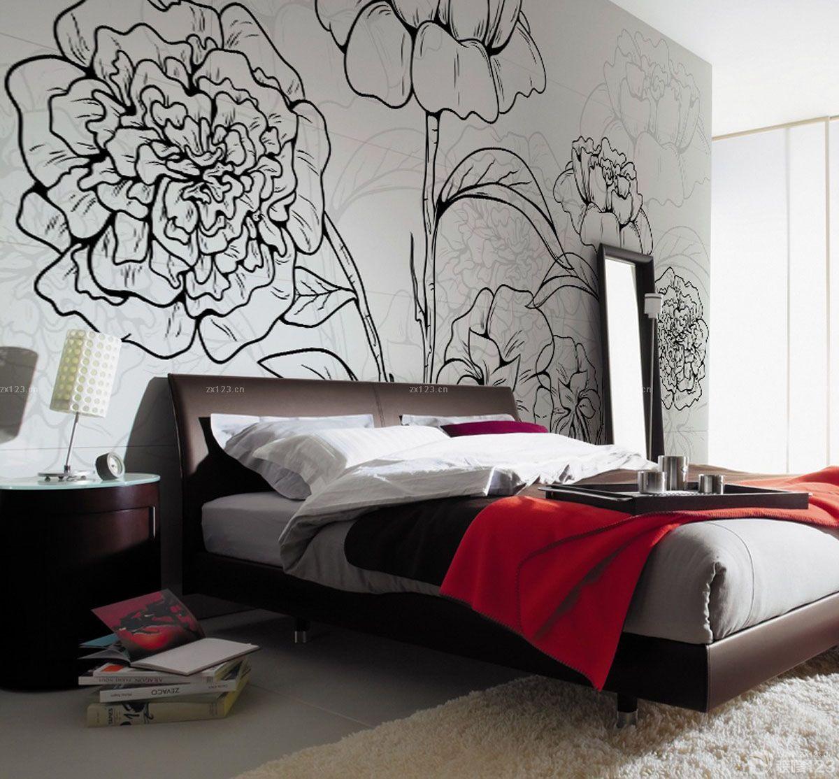大卧室壁画图片欣赏