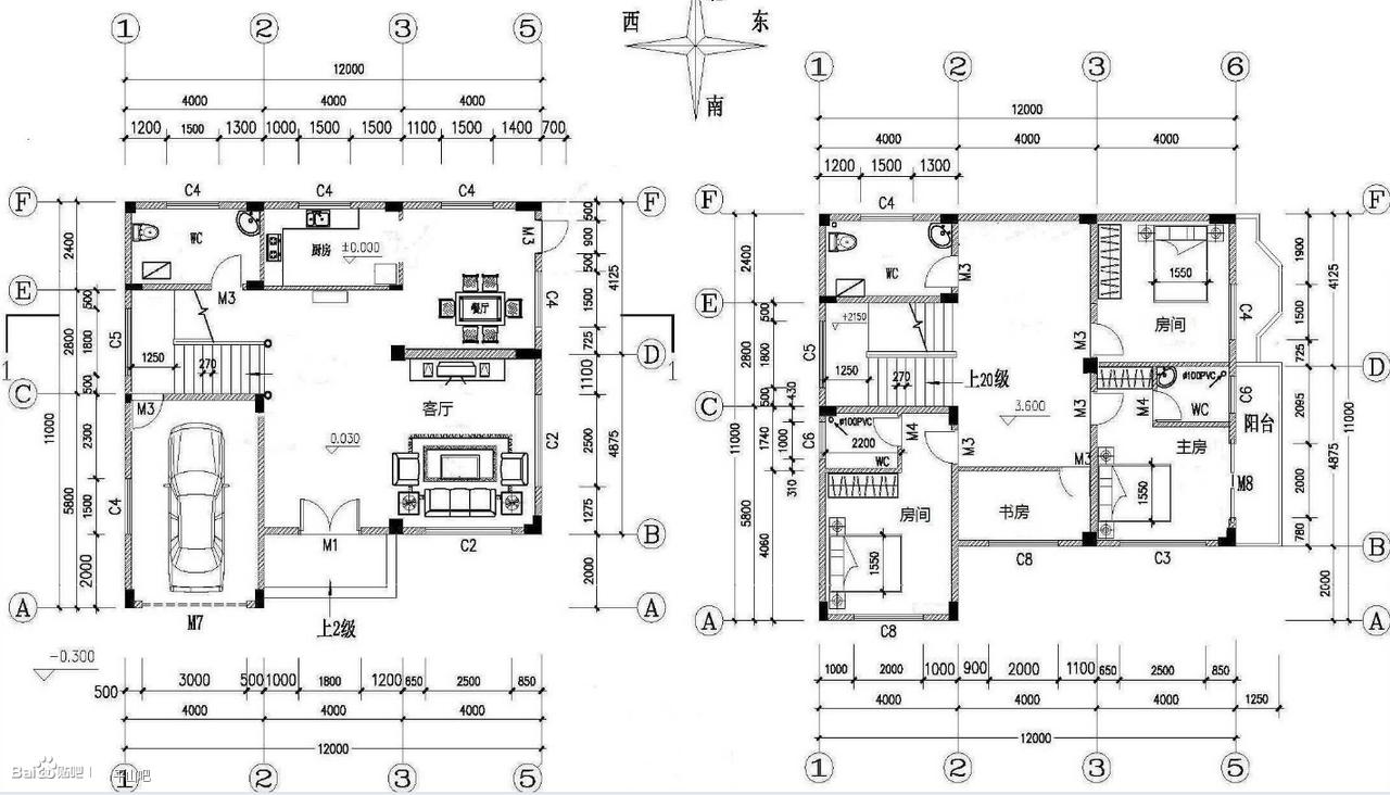 56平米简装小户型卧室推拉门设计图图片