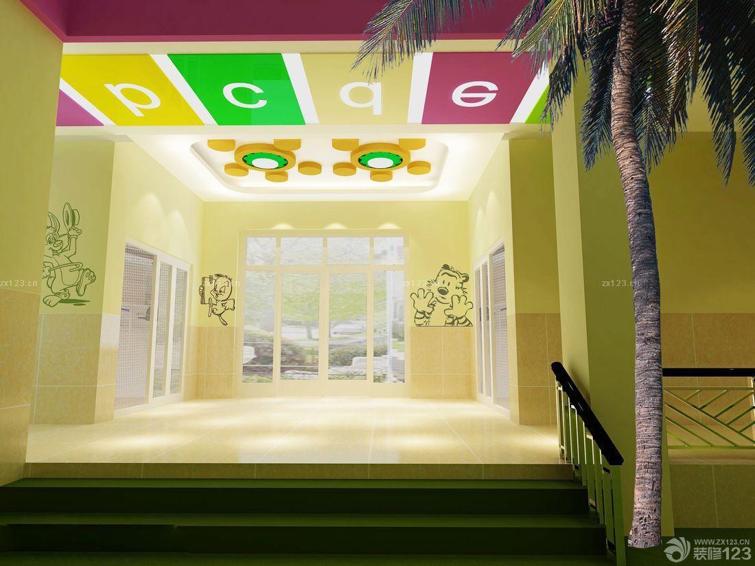 幼儿园园内吊饰布置效果图片