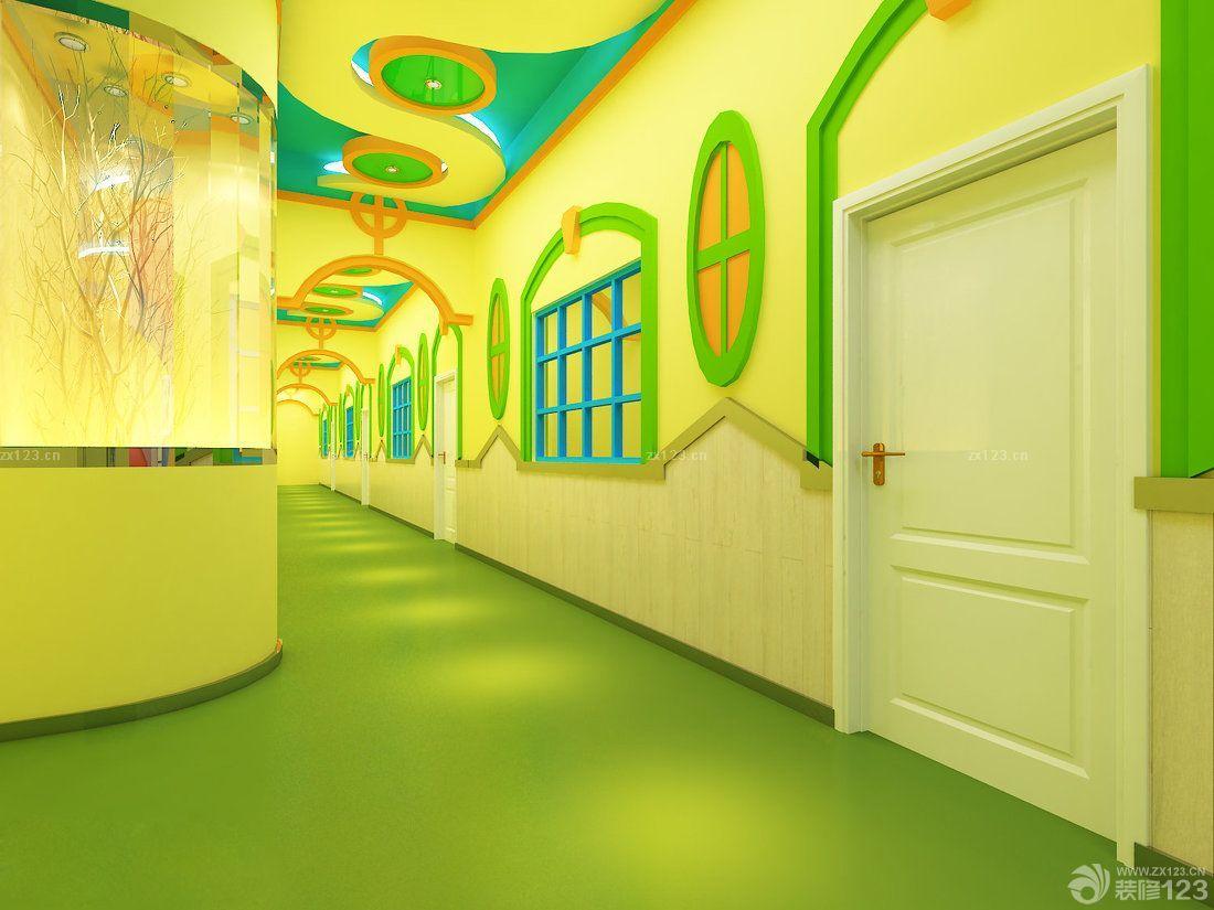 幼儿园走廊吊饰布置效果图片图片
