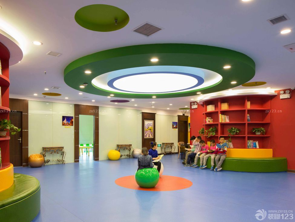 幼儿园音乐室吊饰布置效果图片