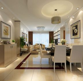 時尚簡約風格不吊頂的客廳設計案例-每日推薦