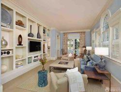 溫馨小窩小戶型躍式客廳裝修設計欣賞