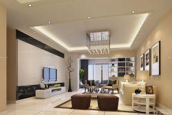 簡約風格60平小戶型躍式客廳設計欣賞