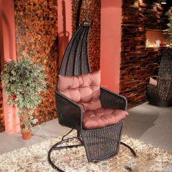 樣板間秋千椅設計案例圖