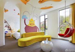兒童房秋千椅設計圖片