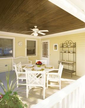 美式风格小户型跃式休闲区装修设计欣赏