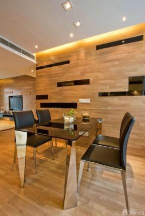 现代80平米小户型跃式餐厅装修设计效果图欣赏