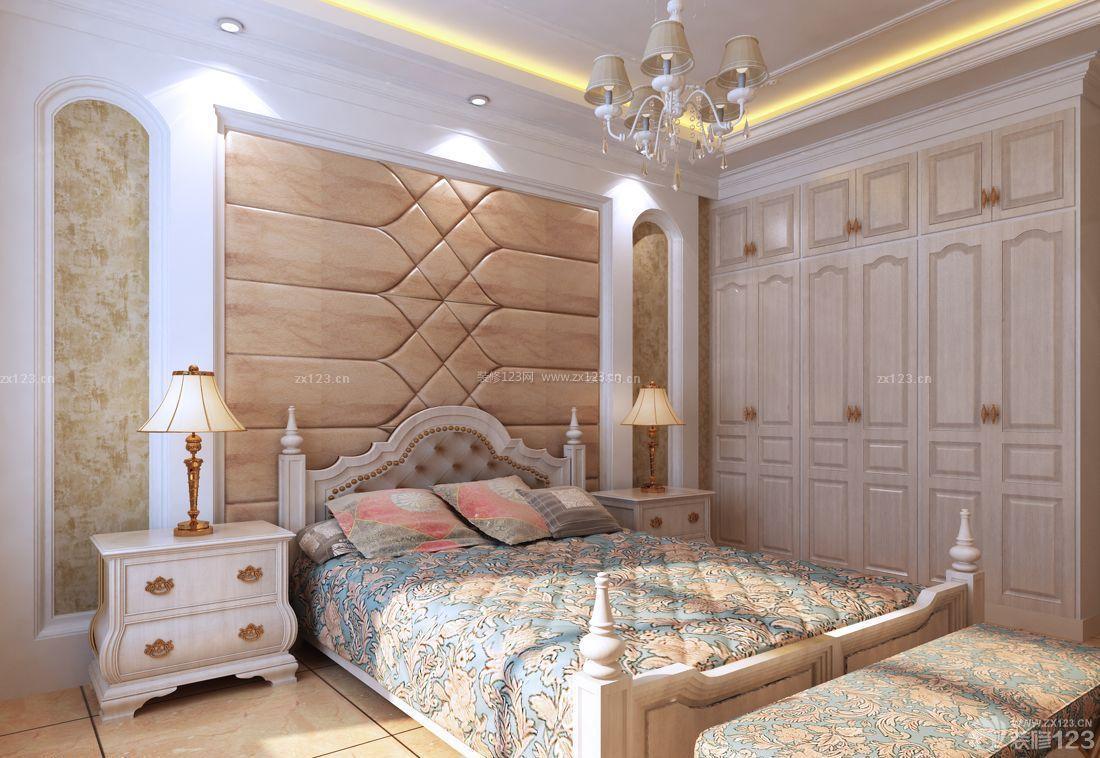 简欧风格主卧室成品衣柜设计图图片