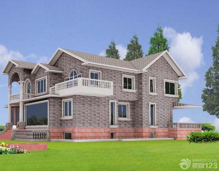 别墅外墙砖设计效果图