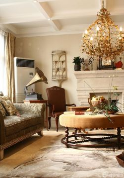 家裝大客廳設計樣板房