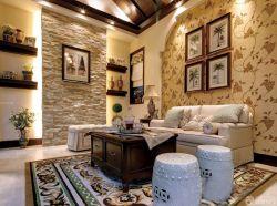 最新家裝房屋客廳設計樣板房