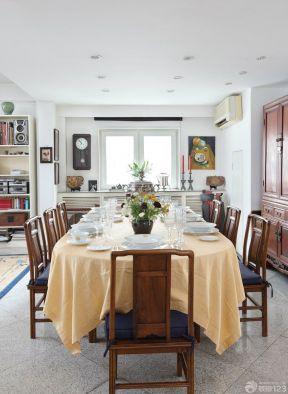 家裝設計樣板房 餐廳設計