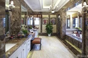 衛生間手繪 豪華別墅
