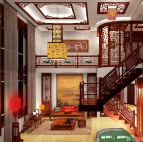 室內樓梯 中式家裝設計