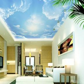 吊頂壁紙 客廳天花板