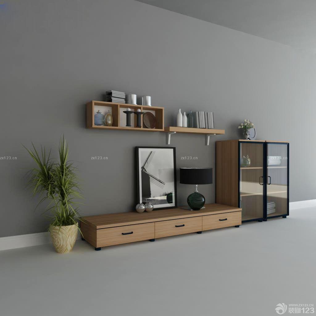 80平米简装组合电视柜效果图
