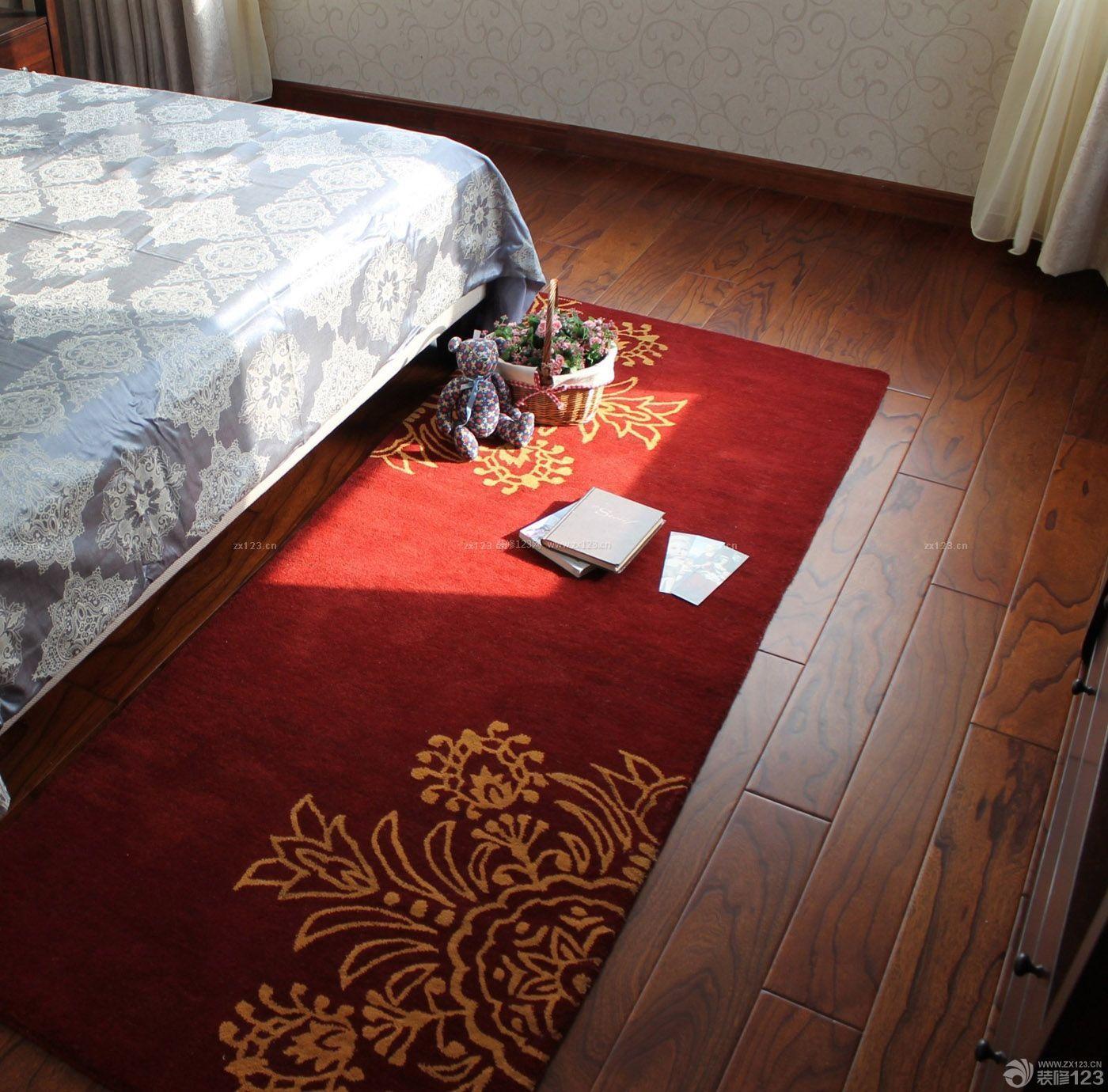 主卧室红色地毯贴图大全