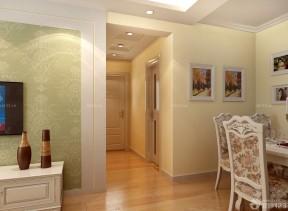小戶型客廳過道吊頂 歐式風格