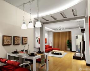 小戶型客廳過道吊頂 現代風格