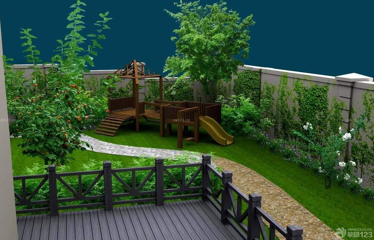 别墅空中花园设计效果图