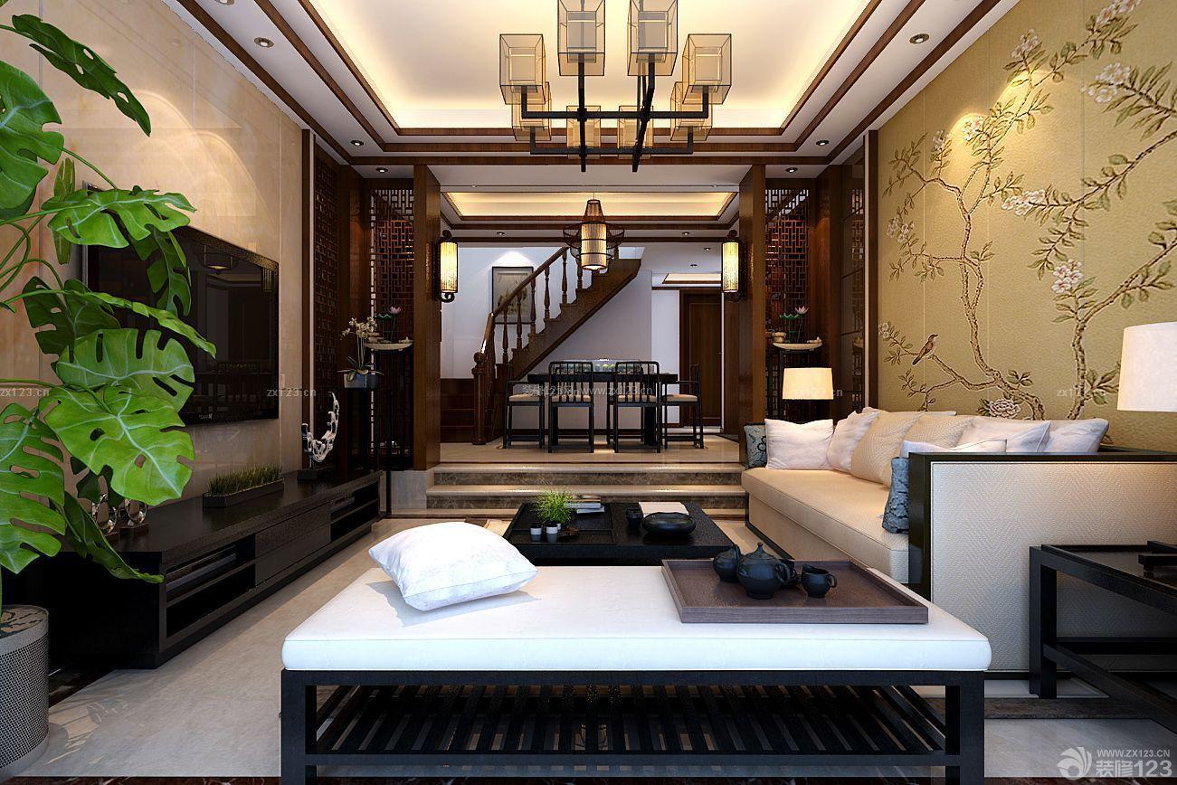 2015新中式风格房子装修样板房
