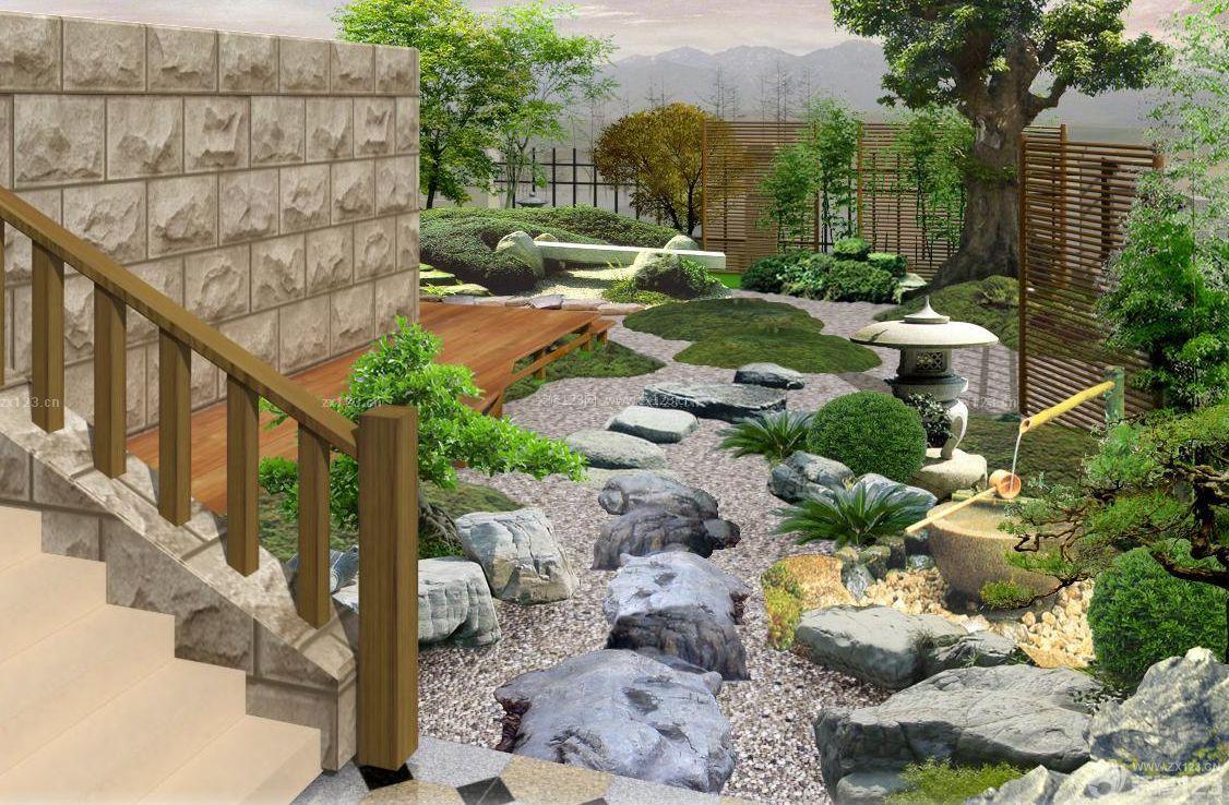 现代简约风格空中花园设计图图片