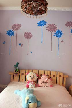 可爱儿童房间手绘墙画欣赏
