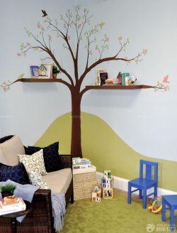 兒童房手繪墻畫設計效果圖