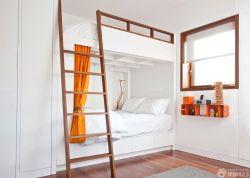 簡約風格公寓床設計圖
