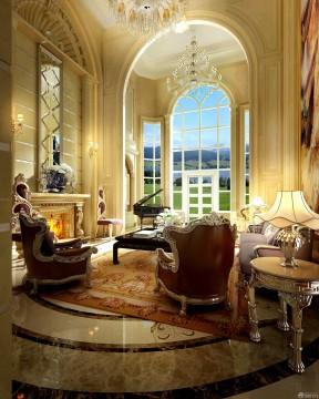 別墅內部 歐式古典家具