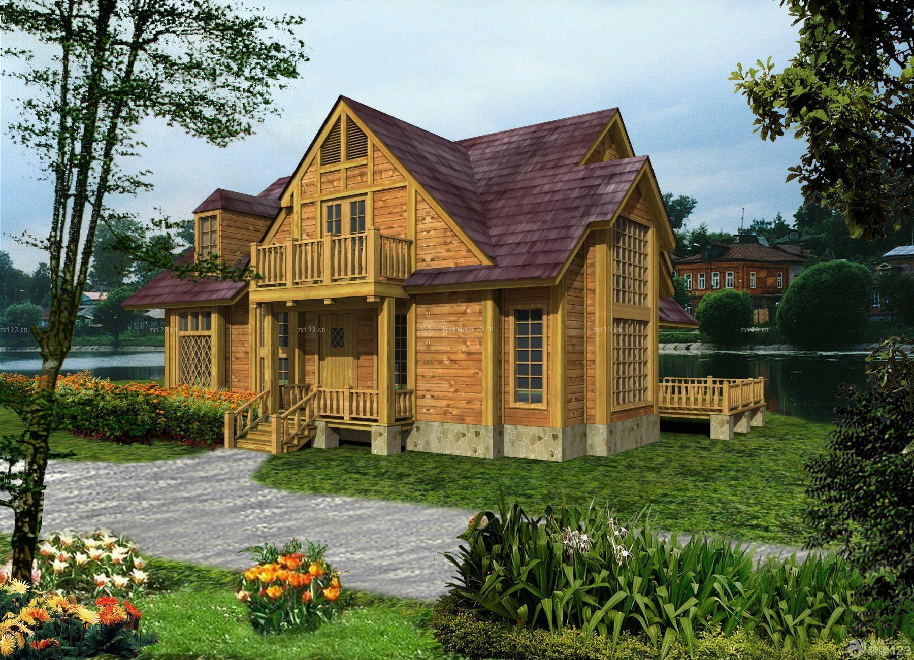 欧式风格小木屋图片大全